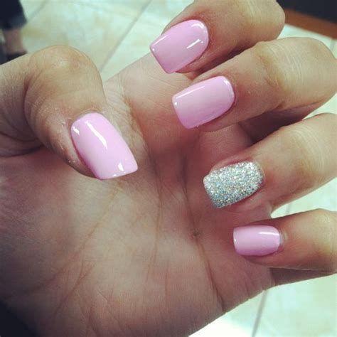 Inspiring Silver And Pink Nails 25