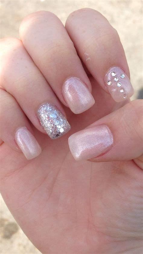 Inspiring Silver And Pink Nails 28