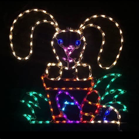 Lovely Outdoor Easter Decorations Lights 01