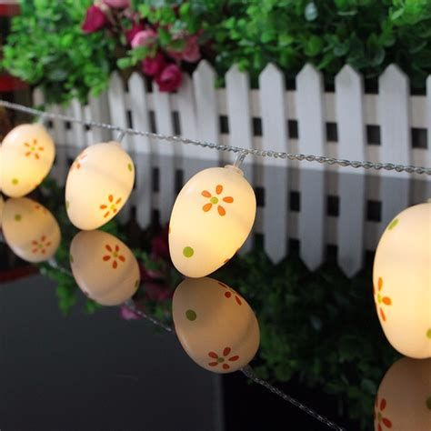 Lovely Outdoor Easter Decorations Lights 03