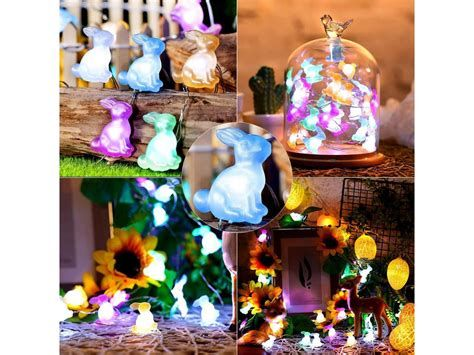 Lovely Outdoor Easter Decorations Lights 09