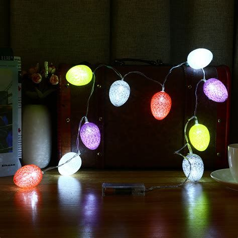 Lovely Outdoor Easter Decorations Lights 12