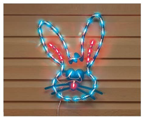 Lovely Outdoor Easter Decorations Lights 14