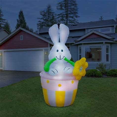 Lovely Outdoor Easter Decorations Lights 17