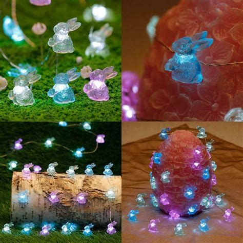 Lovely Outdoor Easter Decorations Lights 21