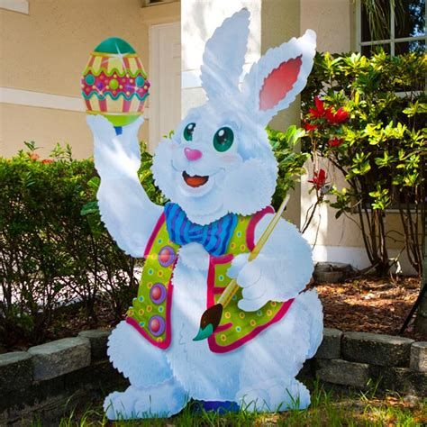 Lovely Outdoor Easter Decorations Lights 26