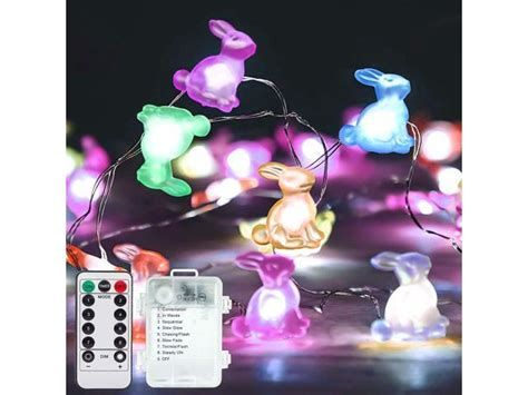 Lovely Outdoor Easter Decorations Lights 28