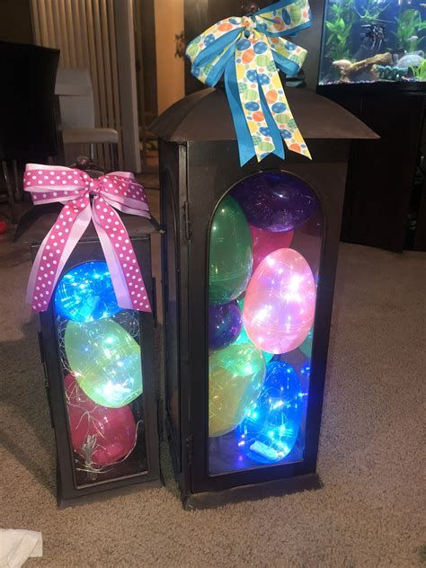 Lovely Outdoor Easter Decorations Lights 35