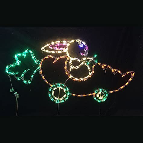 Lovely Outdoor Easter Decorations Lights 36