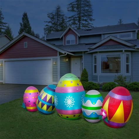 Lovely Outdoor Easter Decorations Lights 44