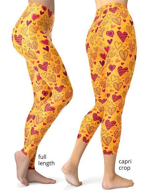 Most Popular Womens Valentines Day Leggings 04