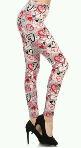 Most Popular Womens Valentines Day Leggings 12