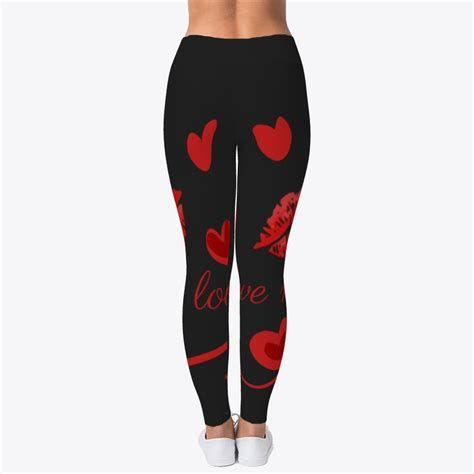 Most Popular Womens Valentines Day Leggings 13
