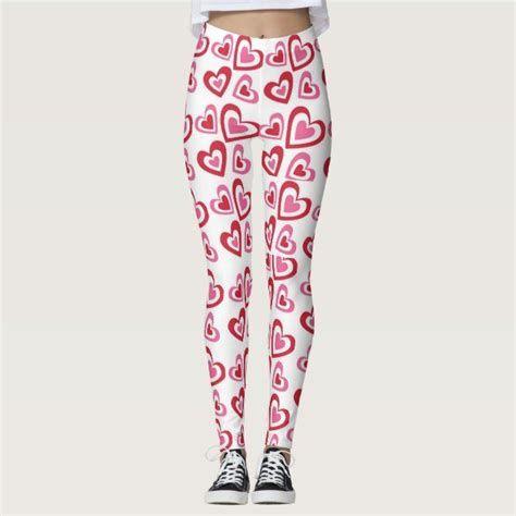 Most Popular Womens Valentines Day Leggings 14