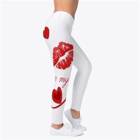 Most Popular Womens Valentines Day Leggings 20