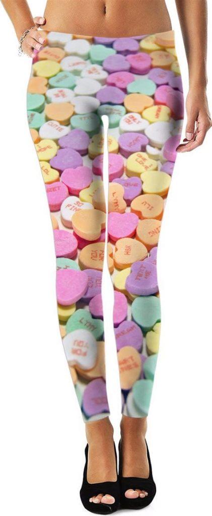Most Popular Womens Valentines Day Leggings 32