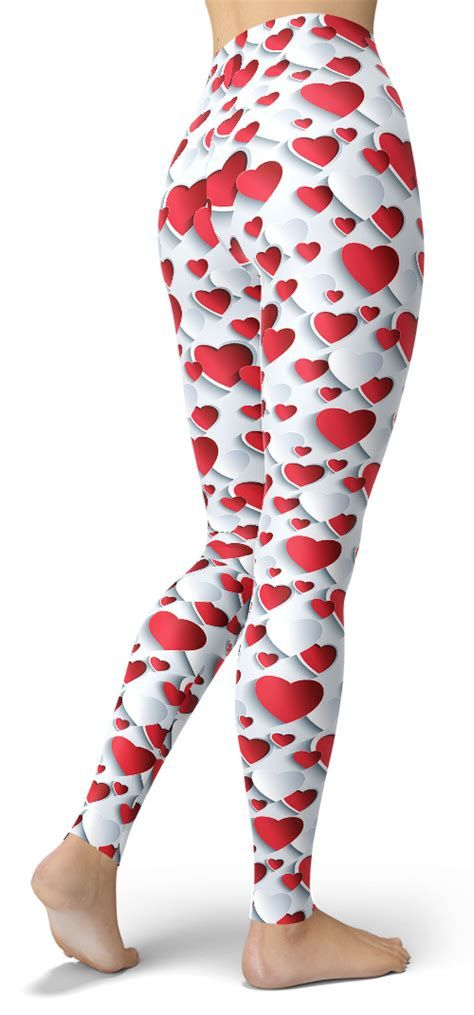 Most Popular Womens Valentines Day Leggings 34
