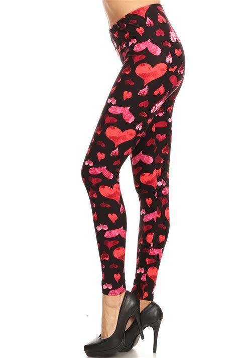 Most Popular Womens Valentines Day Leggings 45