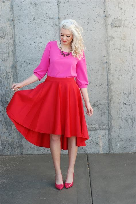 Stunning Red And Pink Dress Ideas 17