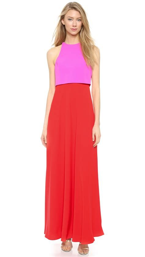 Stunning Red And Pink Dress Ideas 34