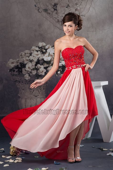 Stunning Red And Pink Dress Ideas 37