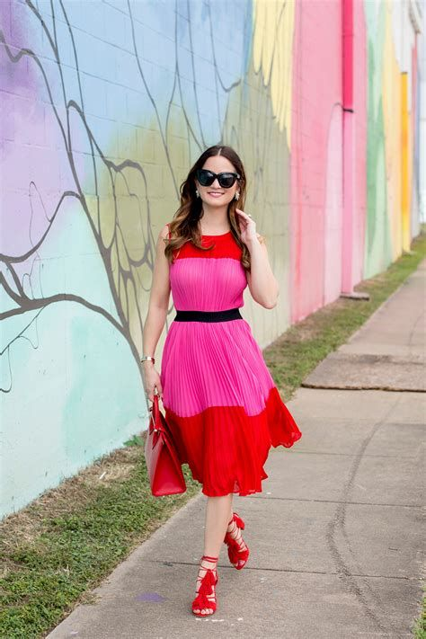 Stunning Red And Pink Dress Ideas 44
