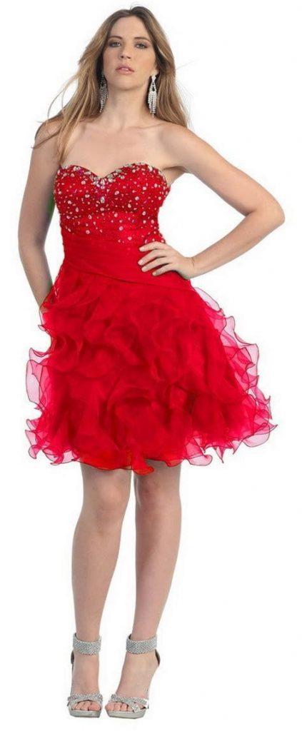 Stunning Valentine Dresses For Teens 19