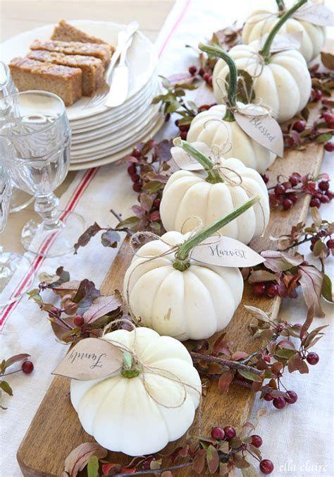 Stylish Diy Thanksgiving Decorations Ideas 05