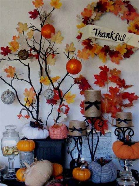 Stylish Diy Thanksgiving Decorations Ideas 17