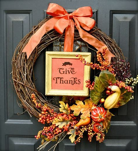 Stylish Diy Thanksgiving Decorations Ideas 37