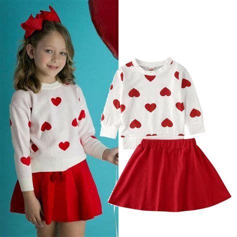 Stylish Girls Valentines Day Dress Ideas 25