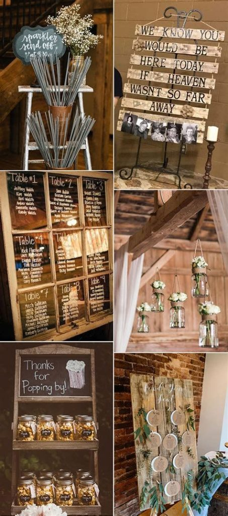 Totally Comfy Country Wedding Decoration Ideas Diy 36