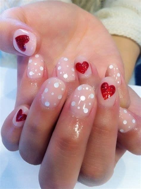 Totally Comfy Valentines Nail Designs Short Nails 07