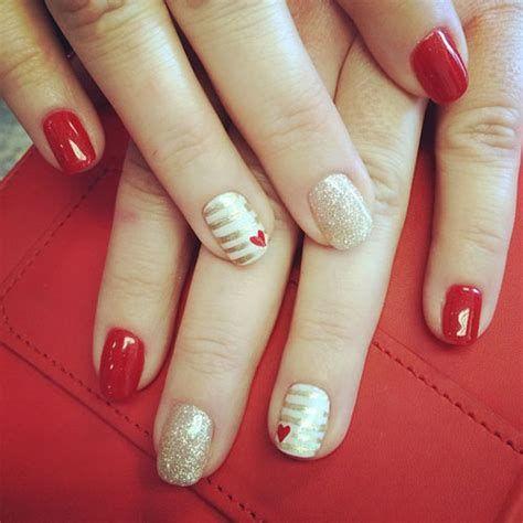 Totally Comfy Valentines Nail Designs Short Nails 10