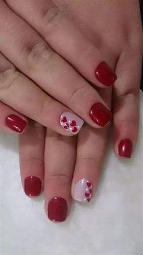 Totally Comfy Valentines Nail Designs Short Nails 11