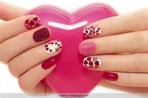 Totally Comfy Valentines Nail Designs Short Nails 12