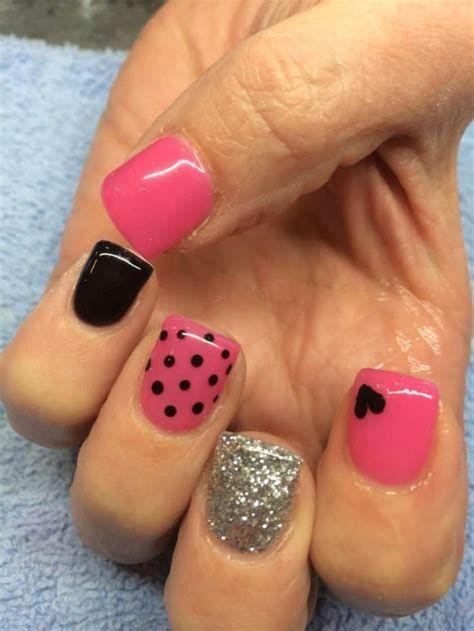 Totally Comfy Valentines Nail Designs Short Nails 14