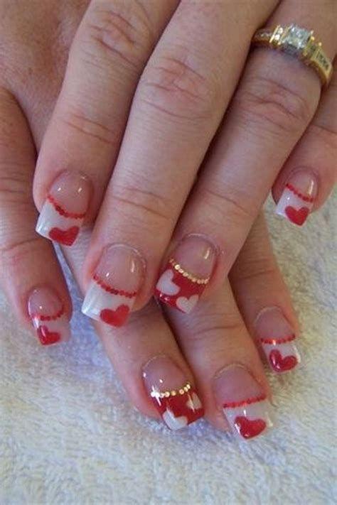 Totally Comfy Valentines Nail Designs Short Nails 18