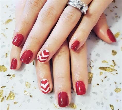Totally Comfy Valentines Nail Designs Short Nails 19