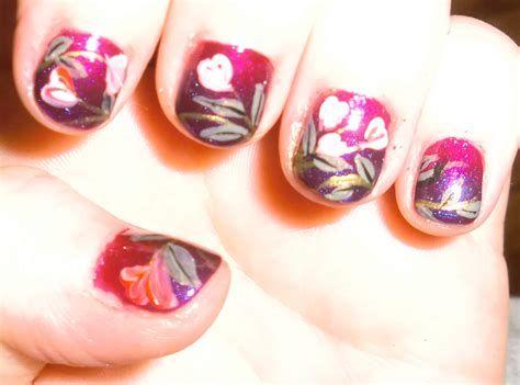 Totally Comfy Valentines Nail Designs Short Nails 23
