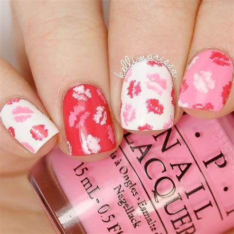 Totally Comfy Valentines Nail Designs Short Nails 25