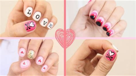 Totally Comfy Valentines Nail Designs Short Nails 28