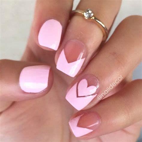 Totally Comfy Valentines Nail Designs Short Nails 30