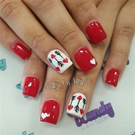Totally Comfy Valentines Nail Designs Short Nails 31