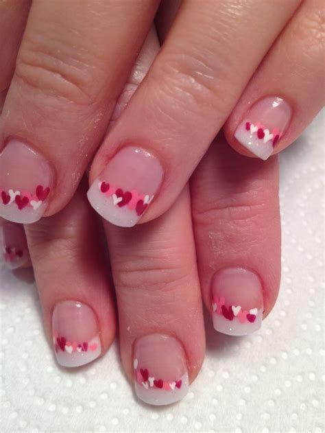 Totally Comfy Valentines Nail Designs Short Nails 32