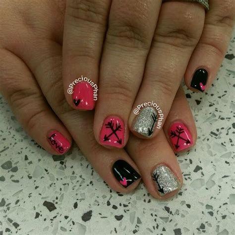 Totally Comfy Valentines Nail Designs Short Nails 34