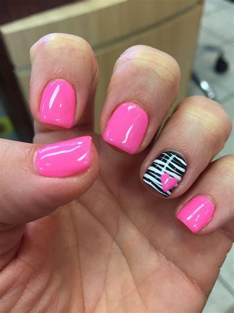 Totally Comfy Valentines Nail Designs Short Nails 37