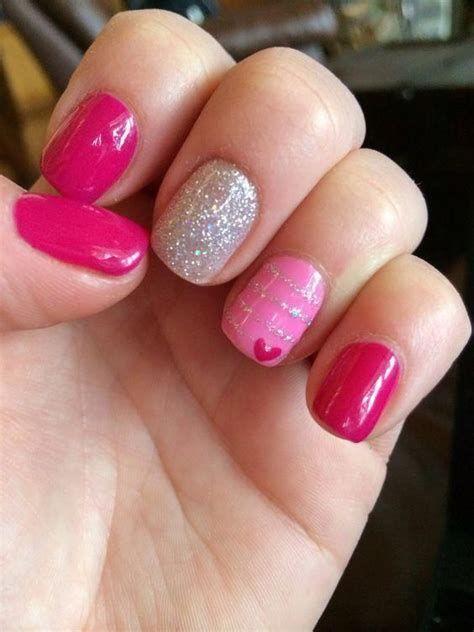 Totally Comfy Valentines Nail Designs Short Nails 41