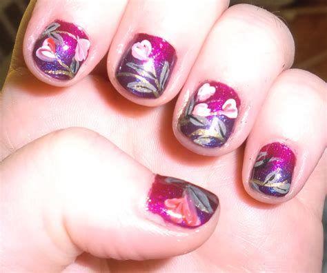 Totally Comfy Valentines Nail Designs Short Nails 42
