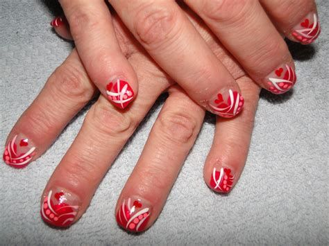 Totally Comfy Valentines Nail Designs Short Nails 46
